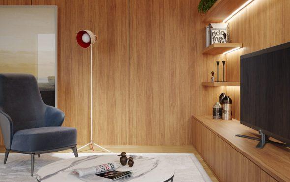 Ambiente Cumaru - Linha Essencial Wood